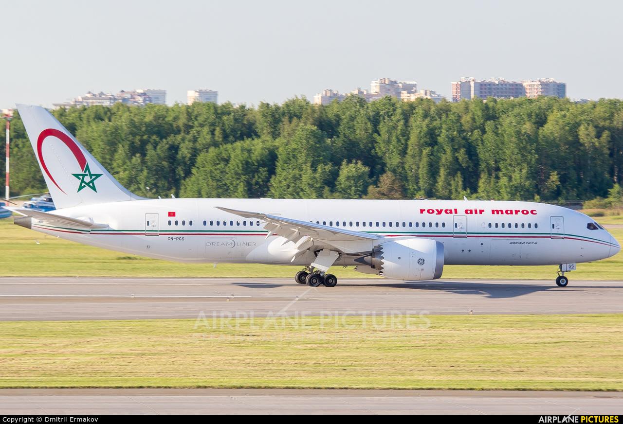 Royal Air Maroc CN-RGS aircraft at St. Petersburg - Pulkovo