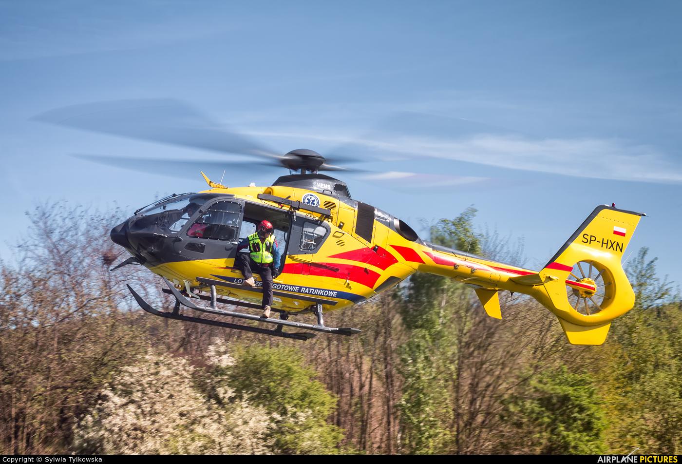 Polish Medical Air Rescue - Lotnicze Pogotowie Ratunkowe SP-HXN aircraft at Kielce Masłów