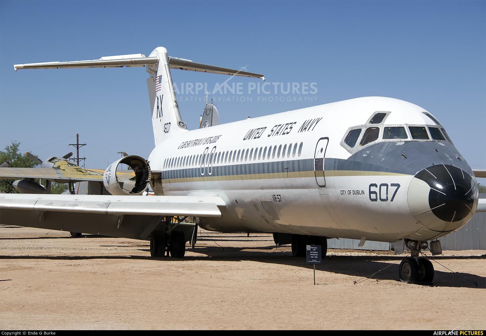 USA - Navy 164607 aircraft at Tucson - Pima Air & Space Museum