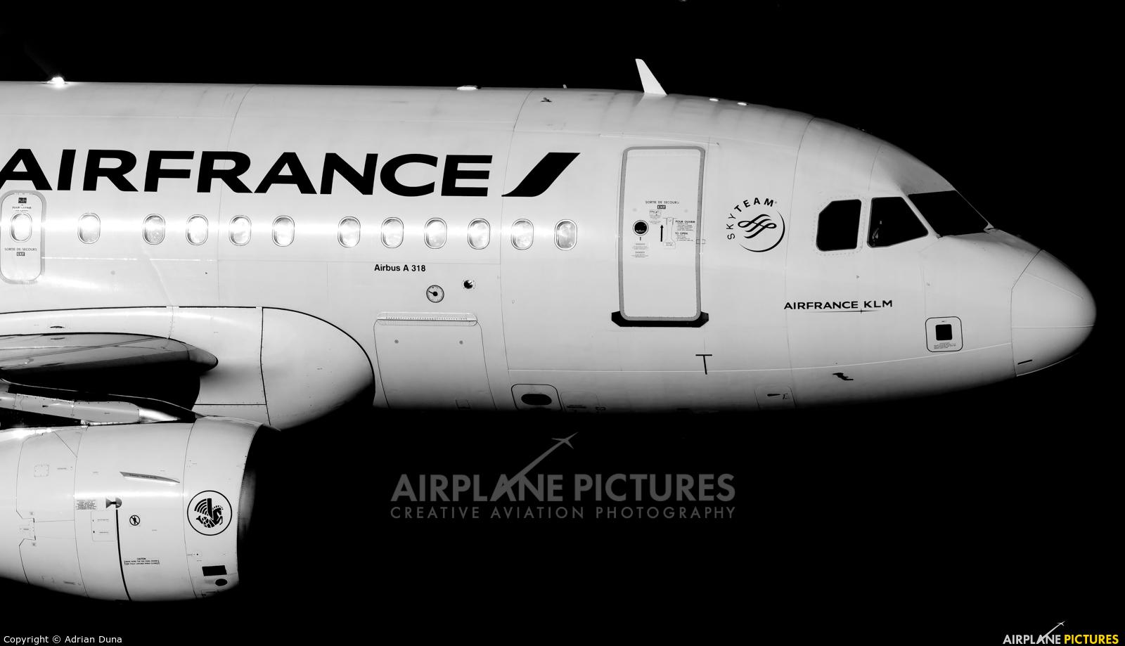 Air France F-GUGN aircraft at Zurich