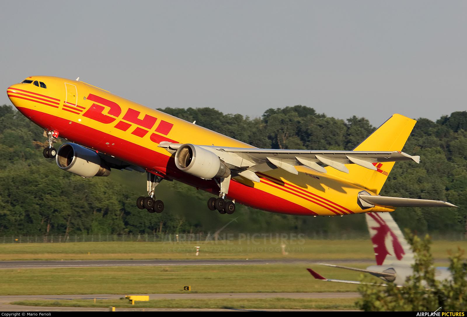 DHL Cargo D-AEAM aircraft at Milan - Malpensa