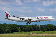 Qatar Amiri Airbus A340 visited Basel title=