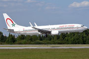 Royal Air Maroc B738 with football fans arrived to St. Petersburg title=