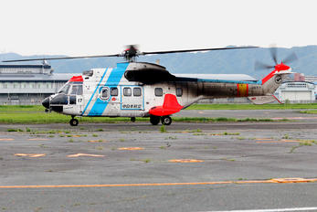 JA6717 - Nakanihon Air Service Aerospatiale AS332 Super Puma L (and later models)
