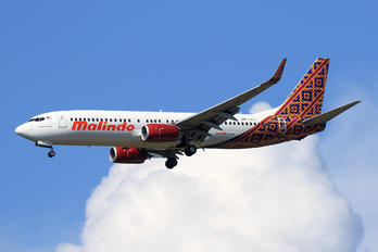 9M-LCJ - Malindo Air Boeing 737-800