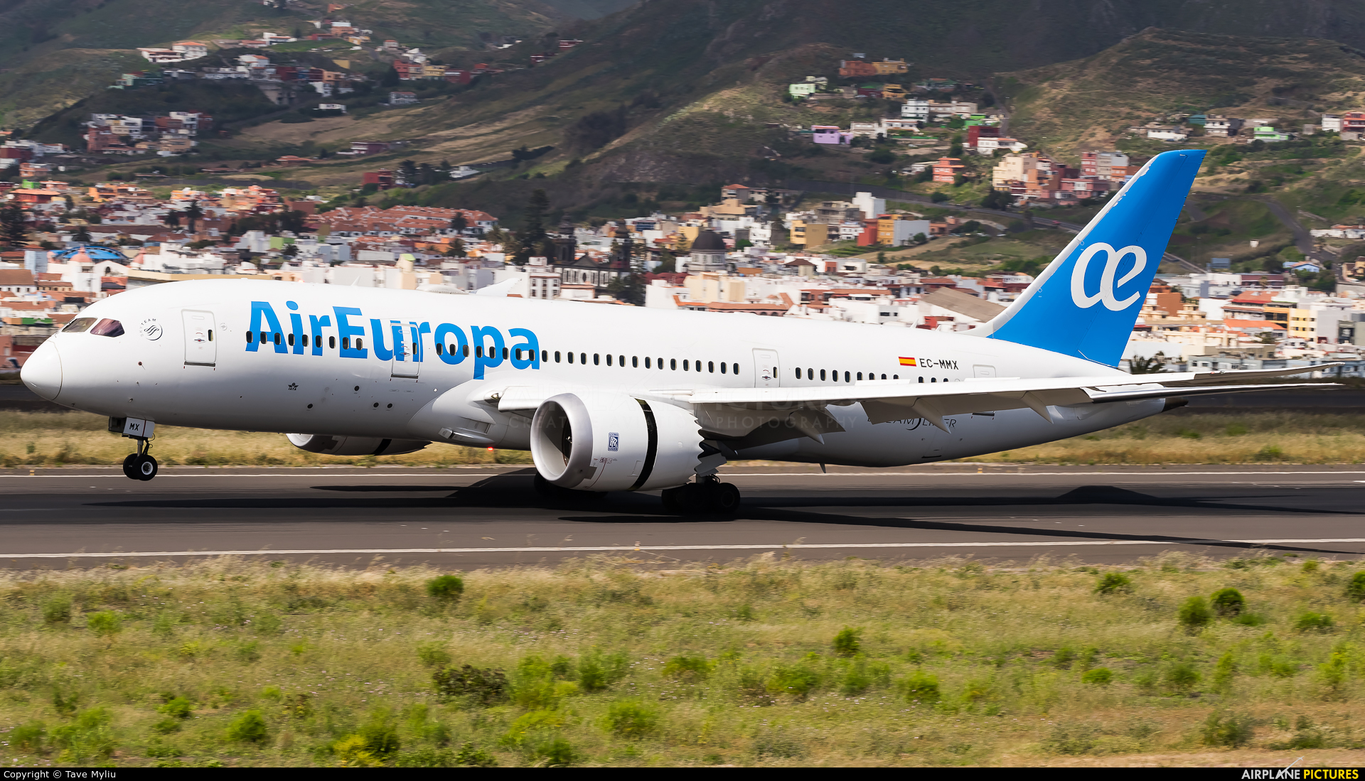 Air Europa EC-MMX aircraft at Tenerife Norte - Los Rodeos