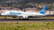 EC-MMX - Air Europa Boeing 787-8 Dreamliner aircraft