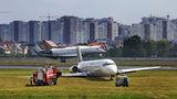 Bravo Airways McDonnell Douglas MD-83 UR-CPR at Kiev - Zhulyany airport