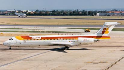 EC-EYX - Iberia McDonnell Douglas MD-87
