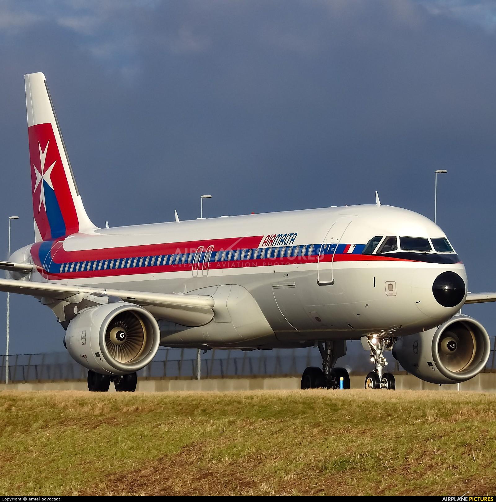 Air Malta 9H-AEI aircraft at Amsterdam - Schiphol