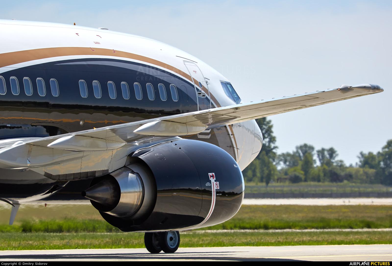 KlasJet LY-KLJ aircraft at Kyiv - Borispol