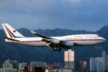 3B-SMC - China Airlines Boeing 747-400