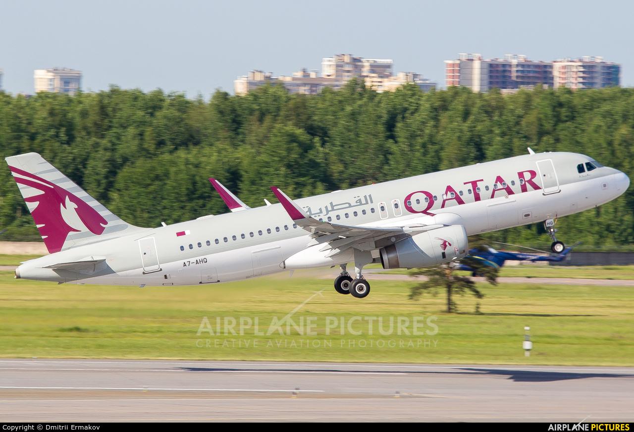 Qatar Airways A7-AHQ aircraft at St. Petersburg - Pulkovo