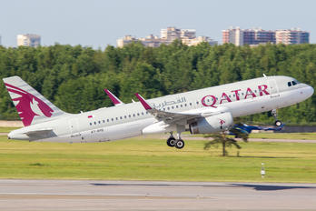 A7-AHQ - Qatar Airways Airbus A320