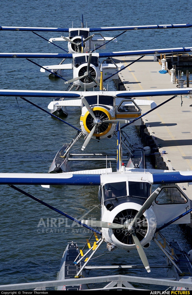 Seair Seaplanes - aircraft at Vancouver Coal Harbour, BC
