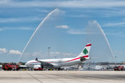 Middle East Airlines' inaugural flight to Madrid Barajas title=