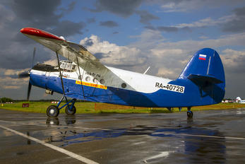 RA-40728 - Private Antonov An-2 TP-301