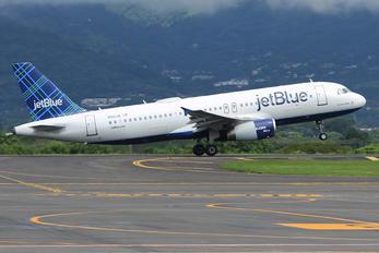 N561JB - JetBlue Airways Airbus A320