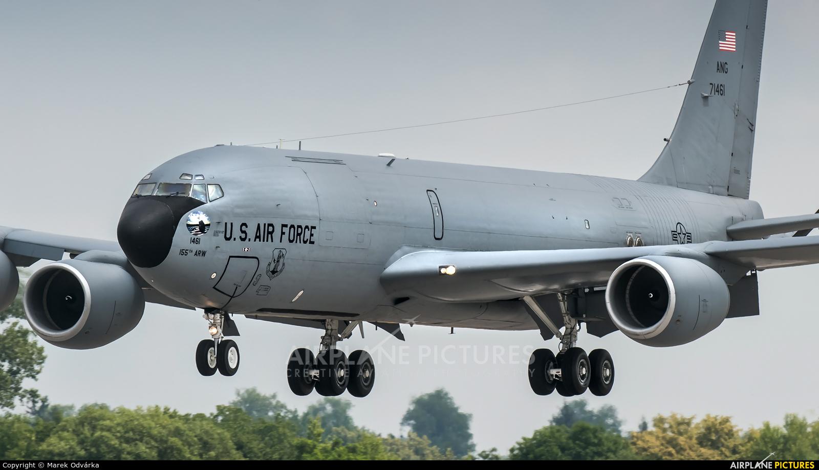 USA - Air Force 57-1461 aircraft at Pardubice