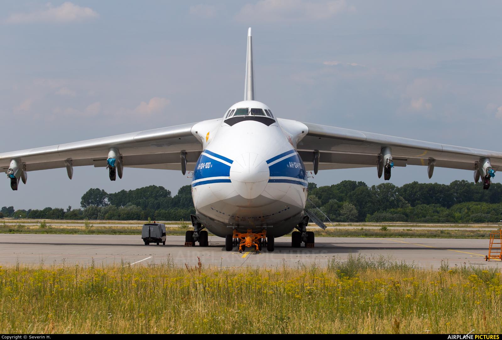 Volga Dnepr Airlines RA-82074 aircraft at Leipzig - Halle
