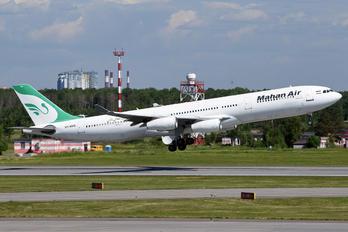 EP-MMB - Mahan Air Airbus A340-300