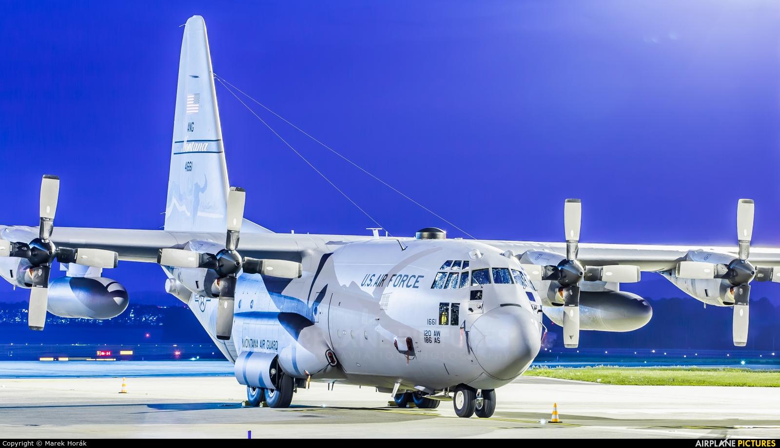 USA - Air Force 74-1661 aircraft at Prague - Václav Havel