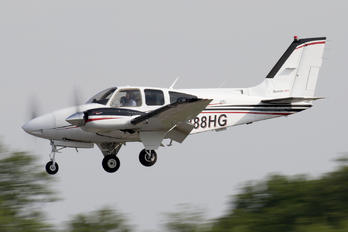 N888HG - Private Beechcraft 55 Baron