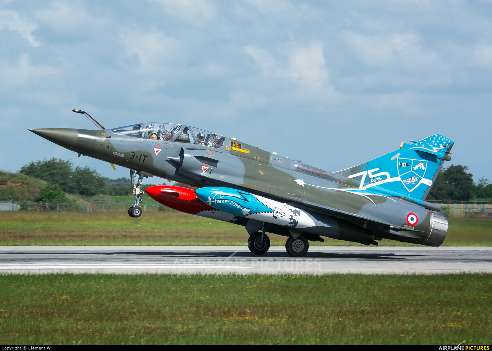 France - Air Force 3-IT aircraft at Evreux Fauville