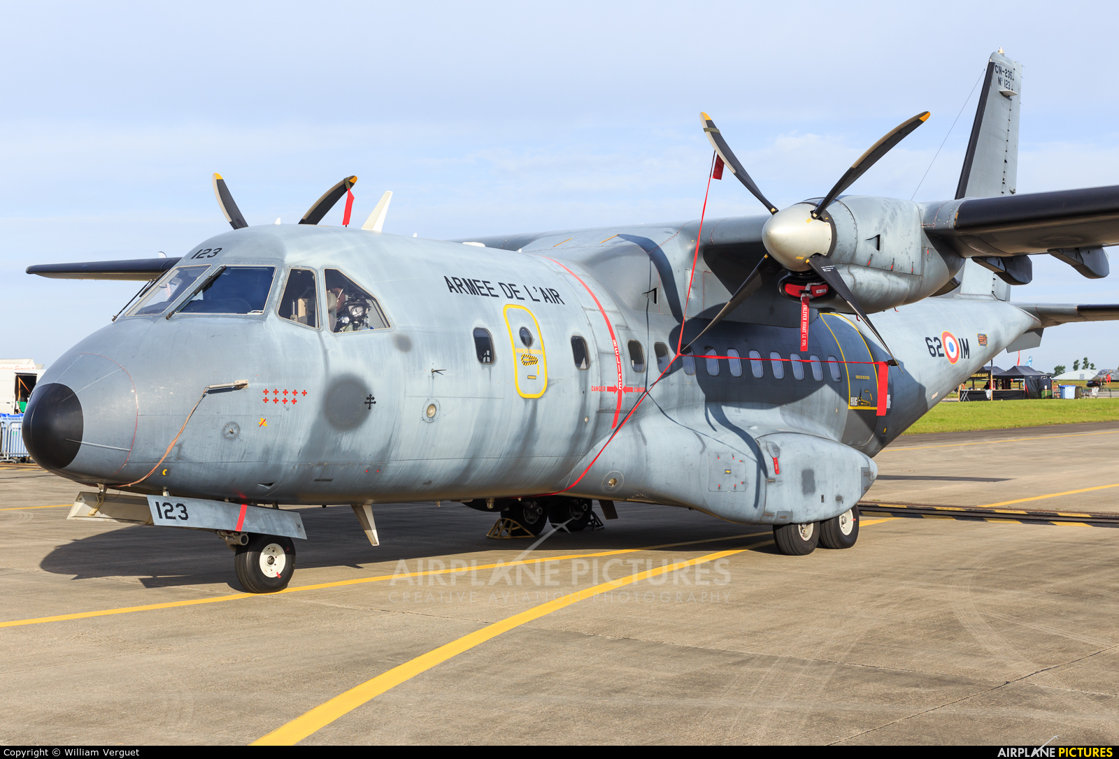 France - Air Force 62-IM aircraft at Evreux Fauville