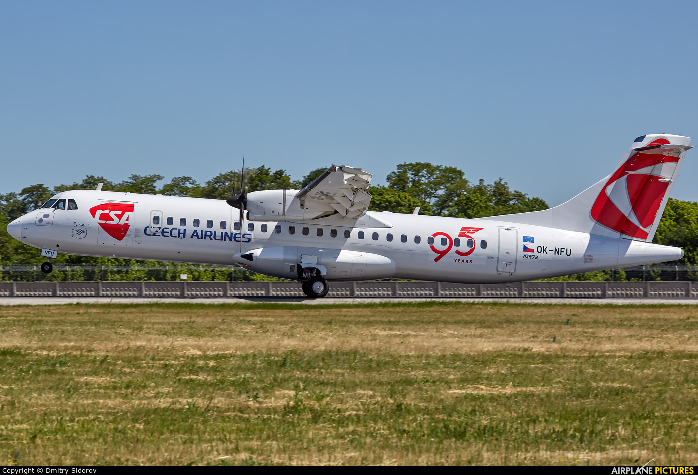 CSA - Czech Airlines OK-NFU aircraft at Kiev - Borispol
