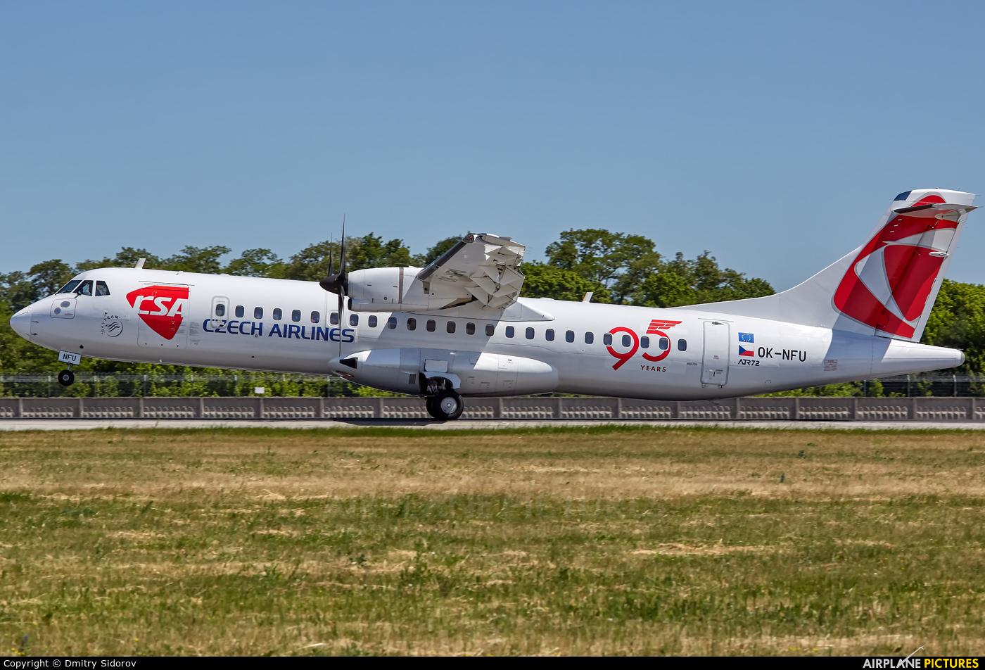 CSA - Czech Airlines OK-NFU aircraft at Kyiv - Borispol