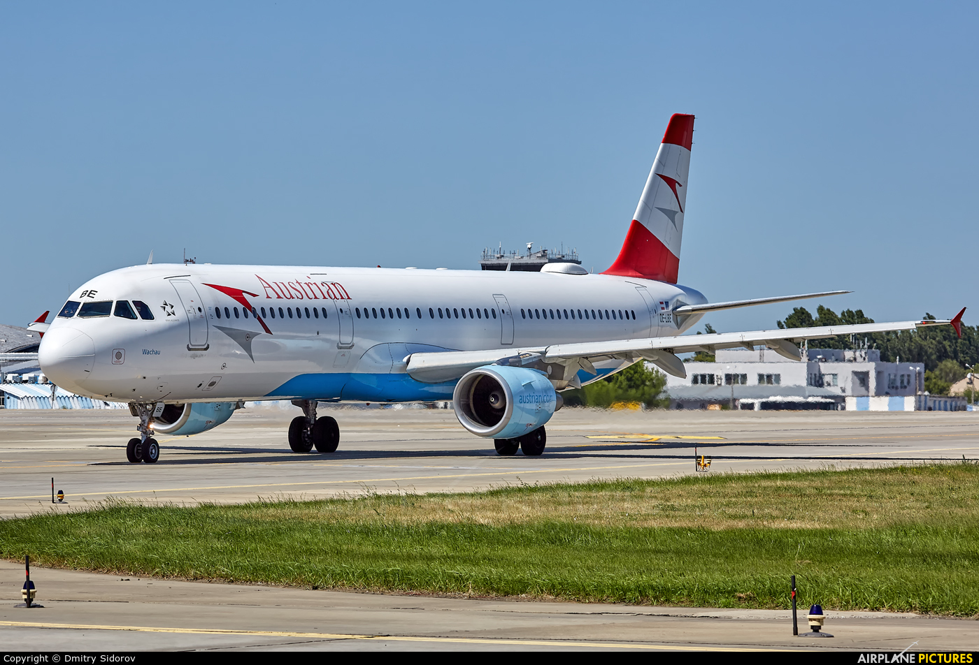 Austrian Airlines/Arrows/Tyrolean OE-LBE aircraft at Kyiv - Borispol