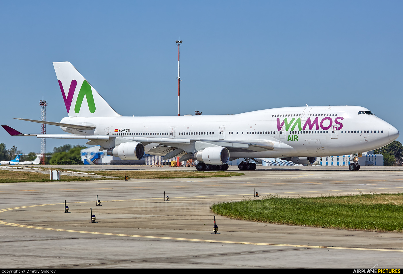Wamos Air EC-KSM aircraft at Kiev - Borispol