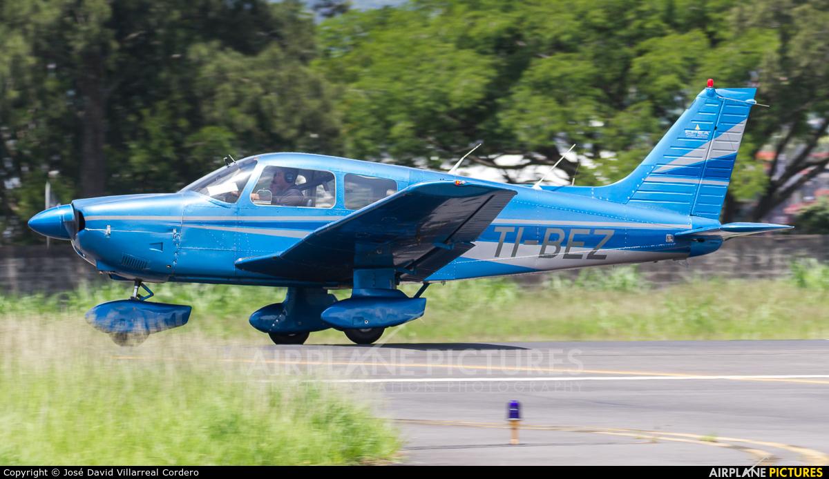 Private TI-BEZ aircraft at San Jose - Tobías Bolaños Intl