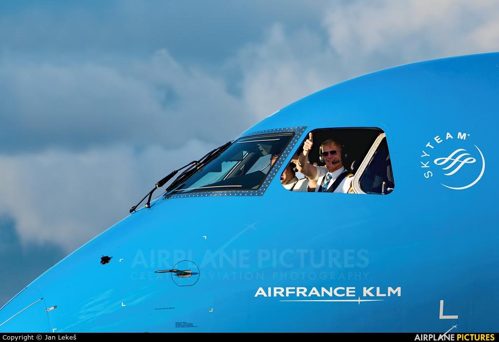 KLM Cityhopper PH-EXR aircraft at Amsterdam - Schiphol