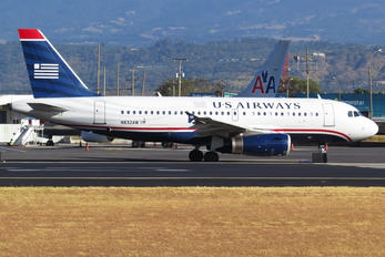 N832AW - US Airways Airbus A319
