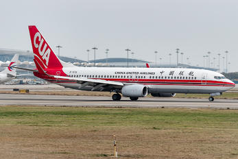 B-1572 - China United Airlines Boeing 737-800