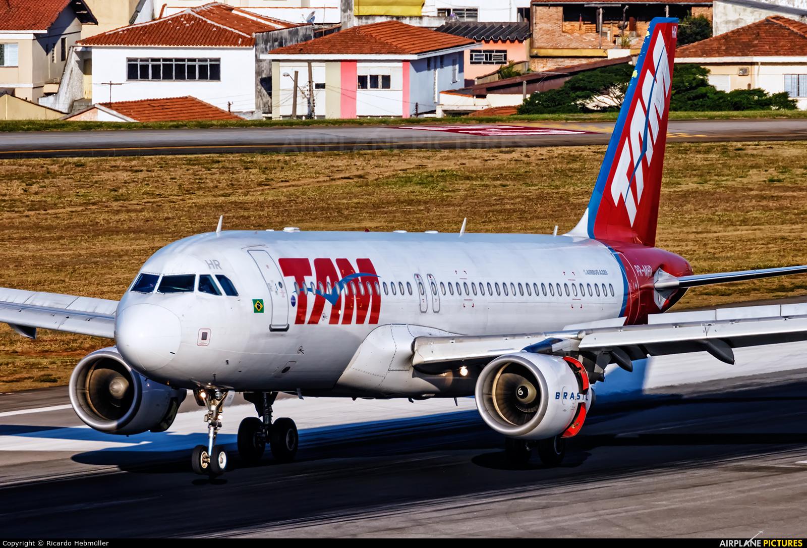 TAM PR-MHR aircraft at São Paulo - Congonhas