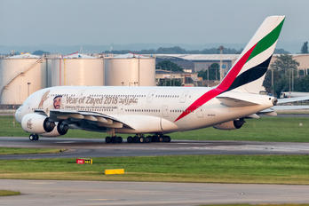 A6-EUA - Emirates Airlines Airbus A380