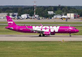 TF-JOY - WOW Air Airbus A321