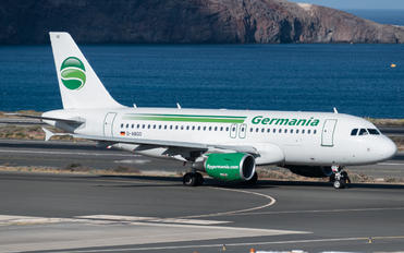 D-ABGO - Germania Airbus A319