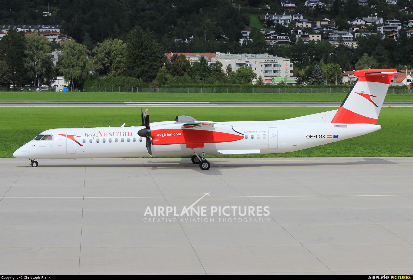 Austrian Airlines/Arrows/Tyrolean OE-LGK aircraft at Innsbruck