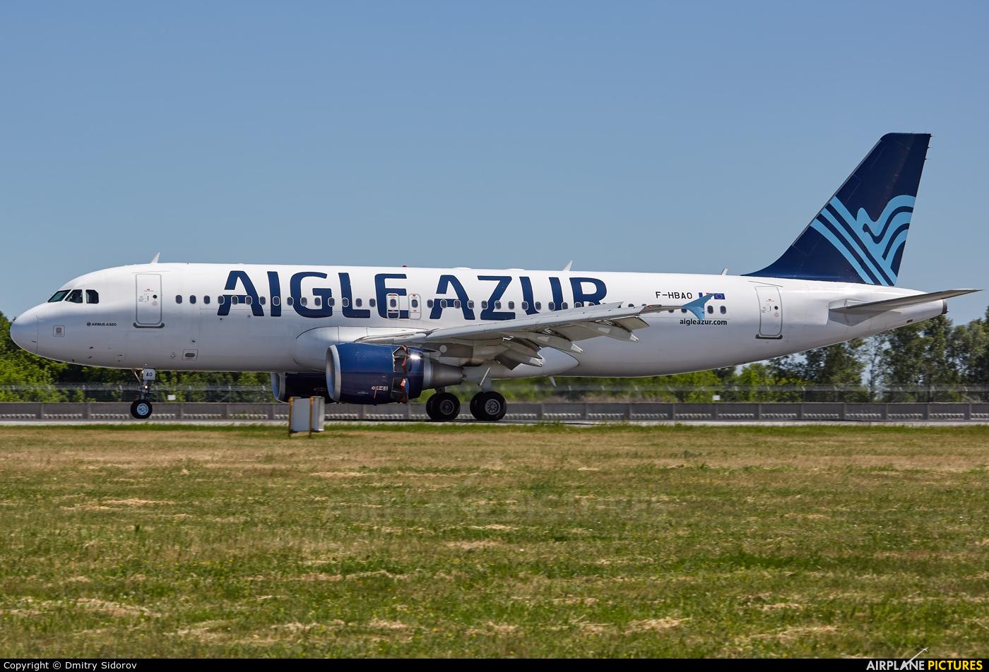 Aigle Azur F-HBAO aircraft at Kiev - Borispol