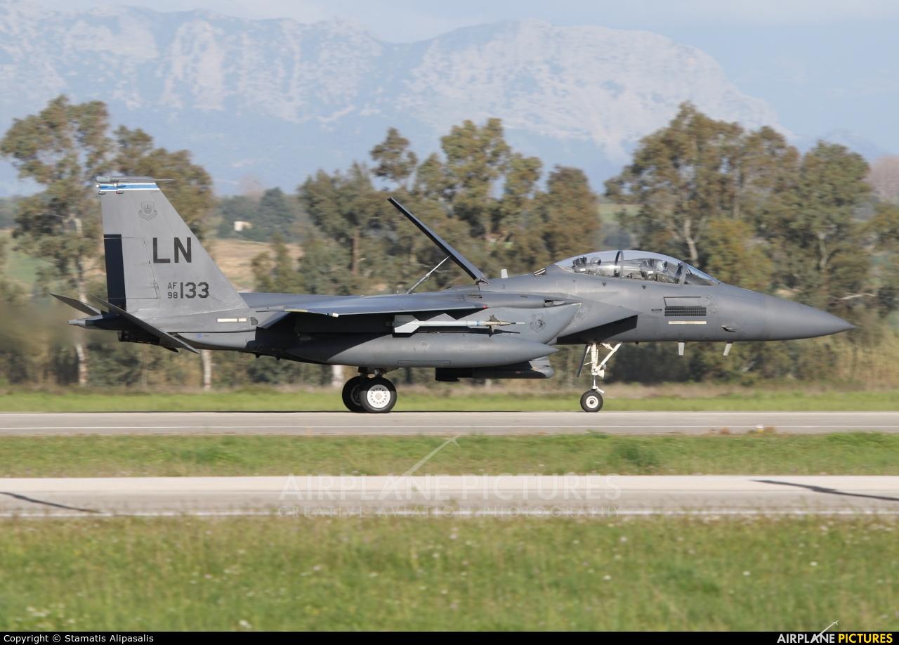 USA - Air Force 98-0133 aircraft at Andravida AB