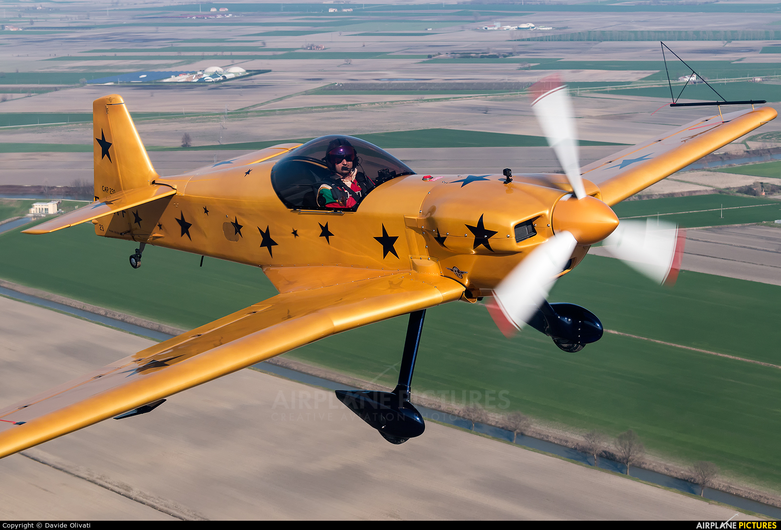 Private F-GVFF aircraft at In Flight - Italy