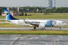 Egyptair B738 brought football fans to St. Petersburg