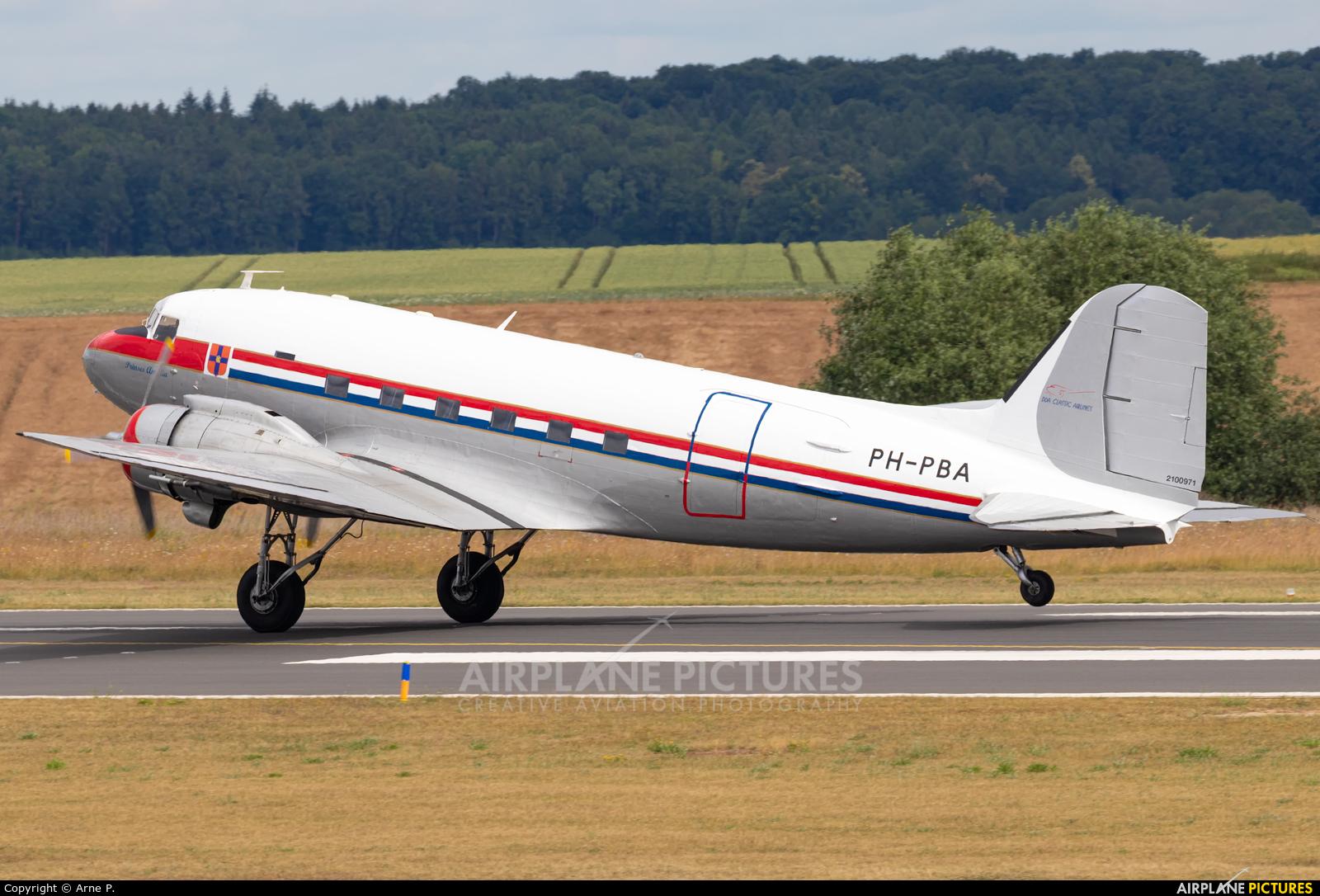 DDA Classic Airlines PH-PBA aircraft at Kassel-Calden