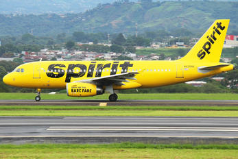 N535NK - Spirit Airlines Airbus A319