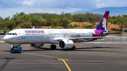 N204HA - Hawaiian Airlines Airbus A321 NEO