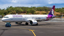 N204HA - Hawaiian Airlines Airbus A321 NEO aircraft